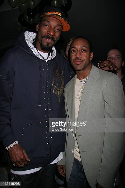 Snoop Dogg with Jaleel White during Snoop Dogg's Birthday Bash and Hood of Horror After Party Sponsored By Captain Morgan Heineken Monster Energy at...