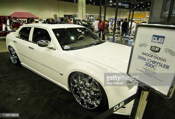 Snoop Dogg's 2006 Chrysler 300C during Dub Magazine's 6th Annual 2006 Custom Auto Show and Concert at Cobo Hall in Detroit, Michigan, United States.