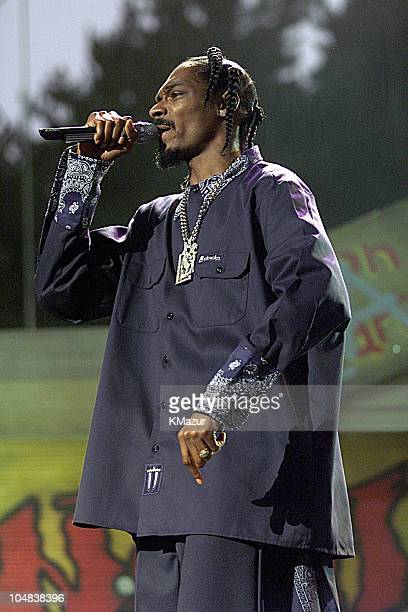Snoop Doggy Dog during Experience Music Project Opening Gala at Experience Music Project in Seattle Washington United States
