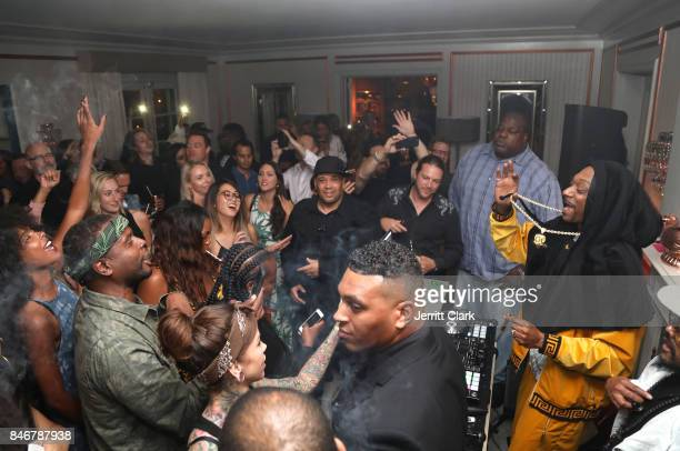 Snoopadelic aka Snoop Dogg DJs as MERRY JANE kicks off Loud Clear campaign with DJ Snoopadelic at Los Angeles dinner event held at the private...