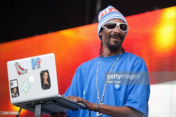Snoopadelic aka Snoop Dogg performs during 2011 Electric Zoo at Randall's Island Park on September 4 2011 in New York City