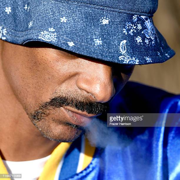Snoopadelic attends KROQ Weenie Roast Luau at Doheny State Beach on June 08 2019 in Dana Point California