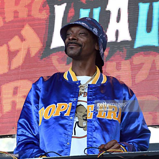 Snoopadelic performs onstage at KROQ Weenie Roast Luau at Doheny State Beach on June 08 2019 in Dana Point California