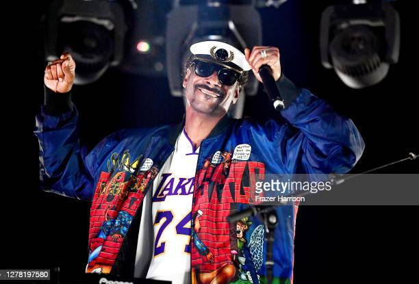 Snoopadelic performs onstage during the 'Concerts in Your Car's' drive-in concert at Ventura County Fairgrounds and Event Center on October 02, 2020...