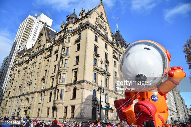Snoopy at the 93rd Annual Macy's Thanksgiving Day Parade on November 28 2019 in New York City