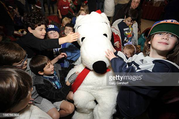 Snoopy attends 'Snoopy Brings A Little Love To Long Beach' on December 12 2012 in New York City
