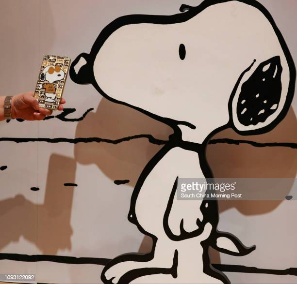 Snoopy exhibition displayed at Times Square in Causeway Bay 22NOV17 SCMP / Nora Tam
