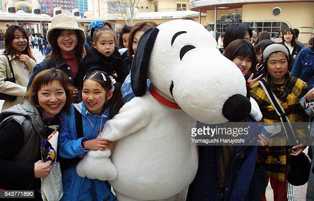 Snoopy is vastly popular with children and with a number of adults