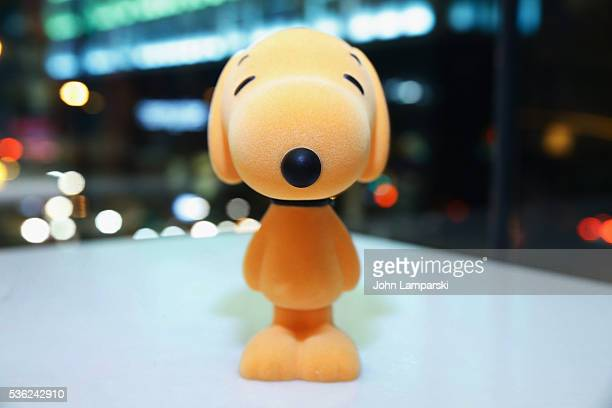 Snoopy toy is seen during 'You're A Good Man Charlie Brown' opening night after party at Dylan's Candy Bar on May 31 2016 in New York City