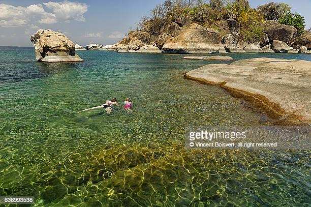 Snorkeling on Lake Malawi
