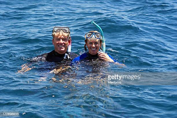 snorkeling - sea of cortez stock pictures, royalty-free photos & images