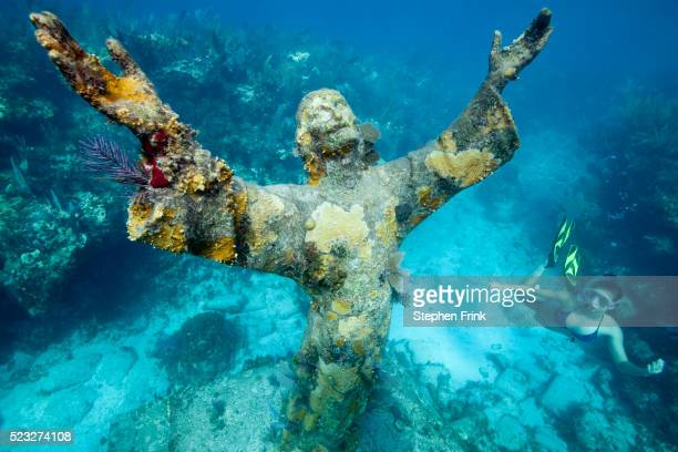 Snorkeling the Christ Statue.