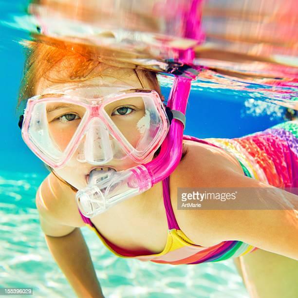 Buceo con esnórquel submarino