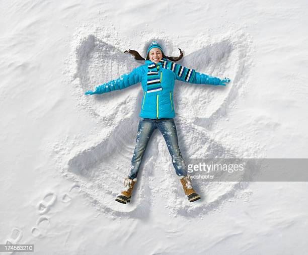 Snow Angel Spaß
