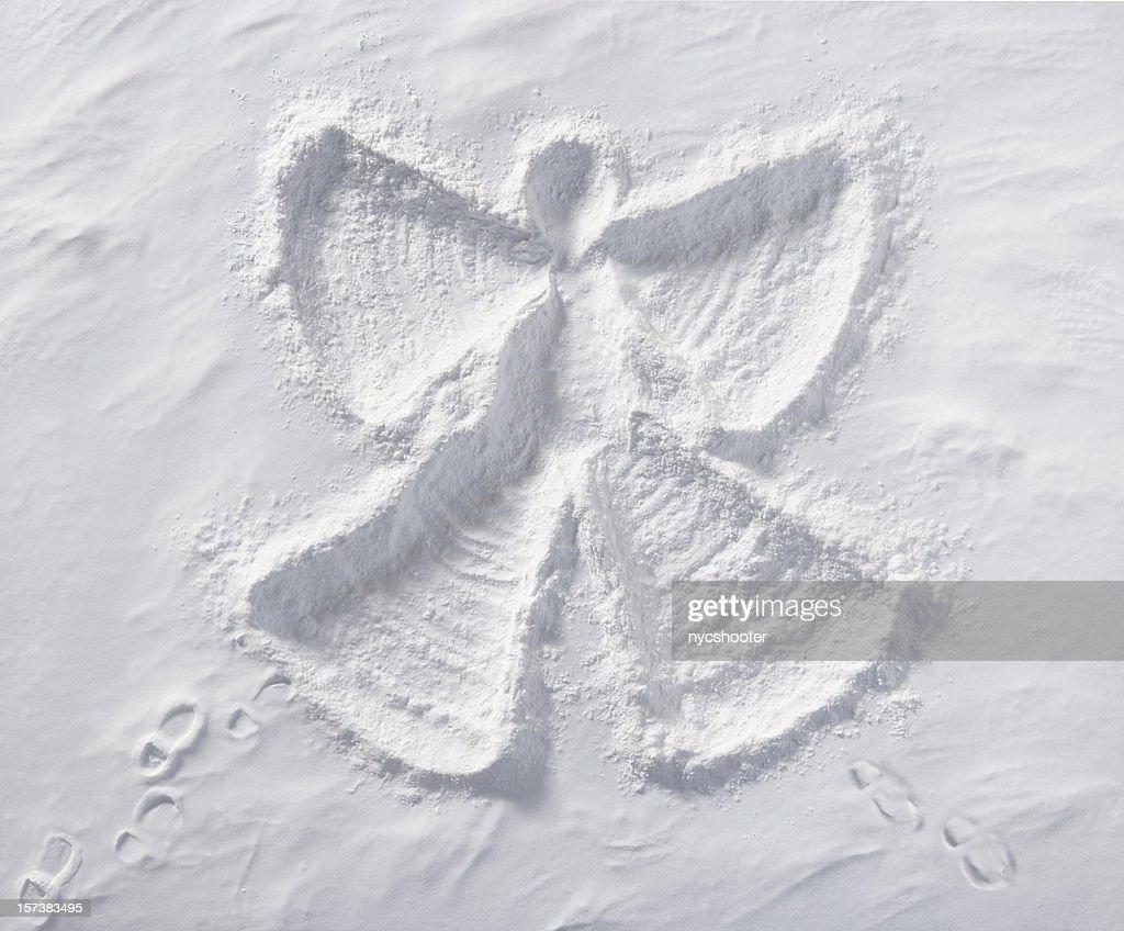 Snow Angel : Stock Photo