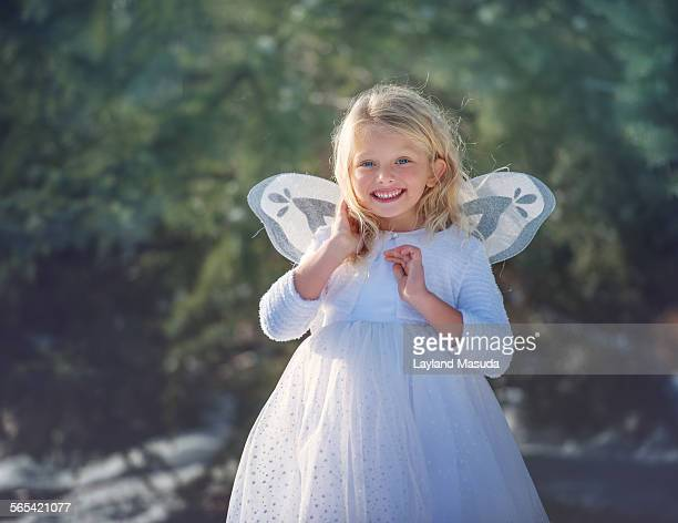 Snow Angel With Wings