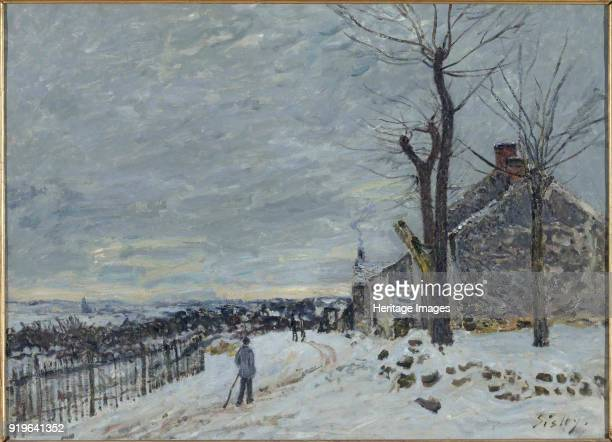 Snow at VeneuxNadon c 1880 Found in the Collection of Musée d'Orsay Paris