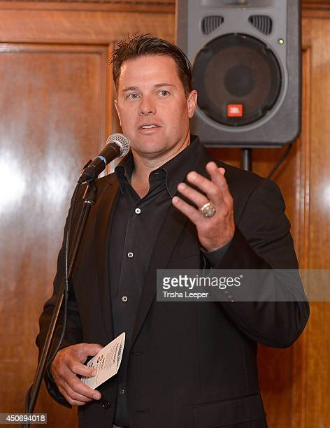 T Snow attends The Snowman Classic To Raise Money To Find A Cure For The Worst Form Of Diabetes at Hamlin Mansion on June 15 2014 in San Francisco...