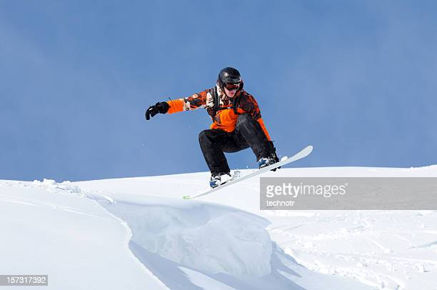 Snow boarder