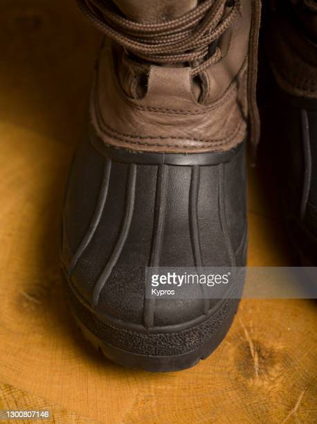 snow boots - snow boot stock pictures, royalty-free photos & images