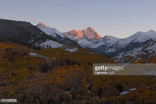 snow capped capitol peak mountain, snowmass, colorado - maroon bells stock pictures, royalty-free photos & images