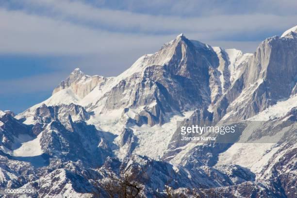 Snow clad Himalaya in winter