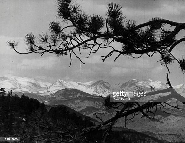 MAR 18 1976 MAR 19 1976 Snow Cover To Spread The mantle of white capping rocky mountains in this view looking west from Genesee Mountain was expected...