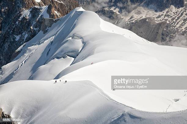 snow covered landscape - chamonix stock pictures, royalty-free photos & images