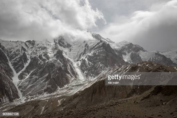 Snow Covered Pamir Plateau,Xinjiang,China