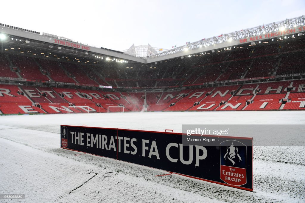 Manchester United v Brighton & Hove Albion - The Emirates FA Cup Quarter Final