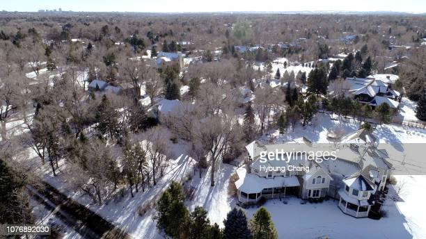 Snow covered Swastika Acres in Englewood January 03 2019 A handful of homes in Cherry Hills Village are part of a littleknown subdivision called...