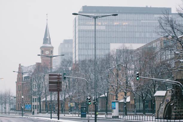 DEU: Snowfall In Germany