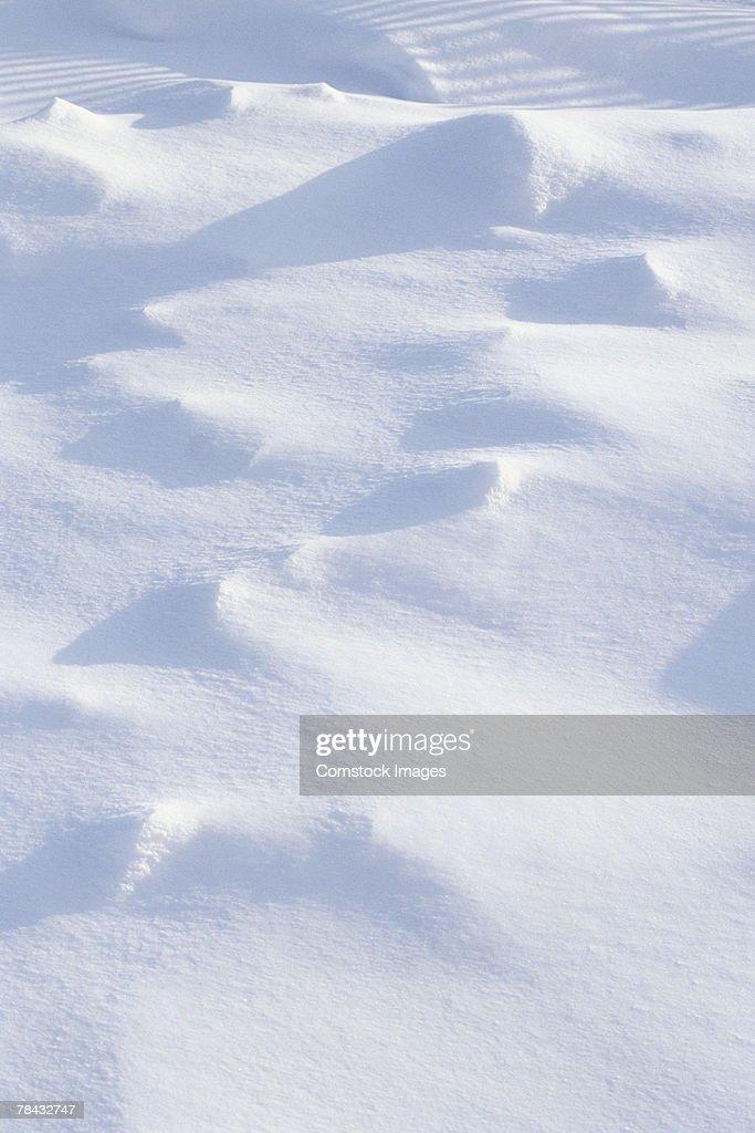 Snow drifts : Stockfoto