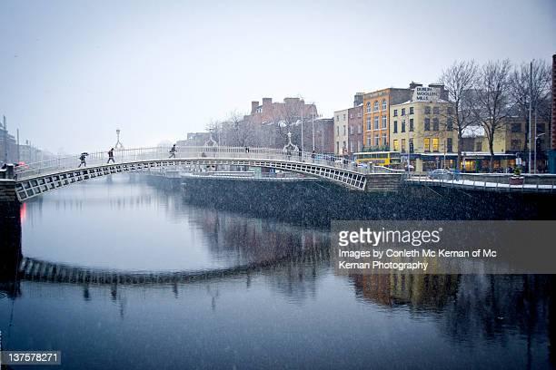 Snow Dublin Ireland