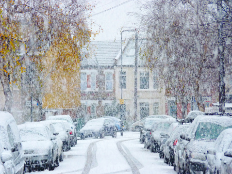 Snow fall - gettyimageskorea
