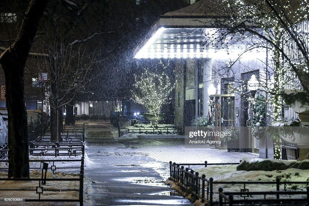 Winter in USA : Nachrichtenfoto
