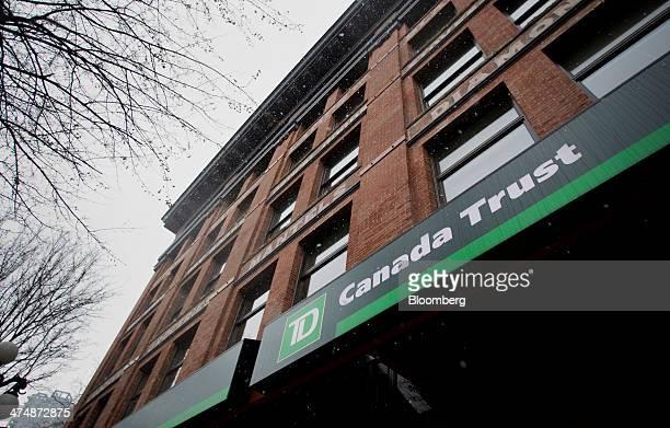 22 Toronto Dominion Bank Branch Ahead Of Earnings Figures