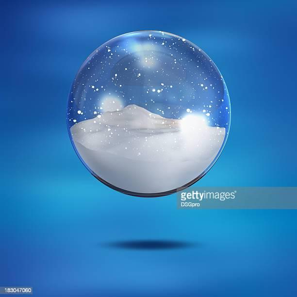 Boule de neige décorative