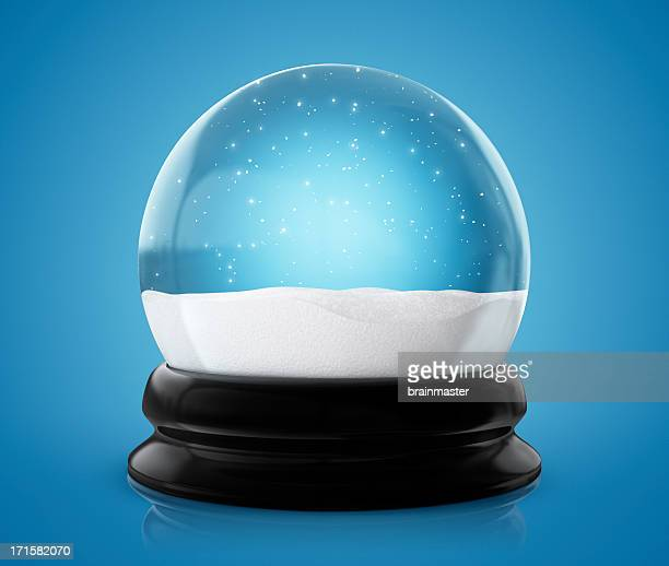 Globo de nieve invierno (Clipping Path (Borde de corte))