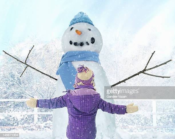 snow hug - gandee stock pictures, royalty-free photos & images