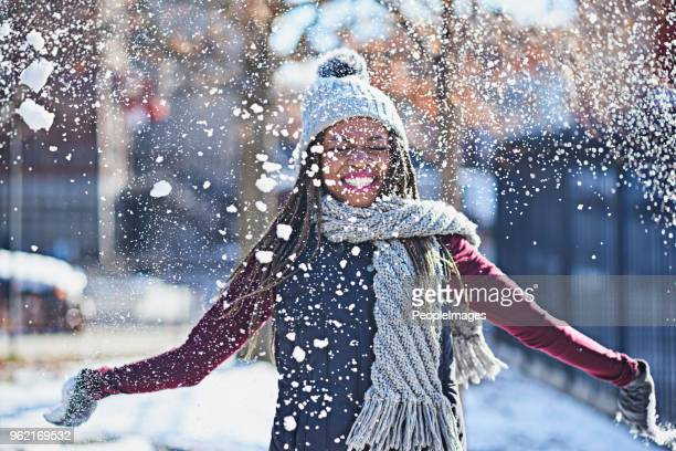 snow is a celebration of life - snowing stock pictures, royalty-free photos & images