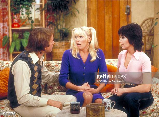 S COMPANY 'Snow Job' Season Four 10/2/79 A tearful Chrissy told Jack and Janet about Mr Furley's strip poker game during her route as an EasyTime...