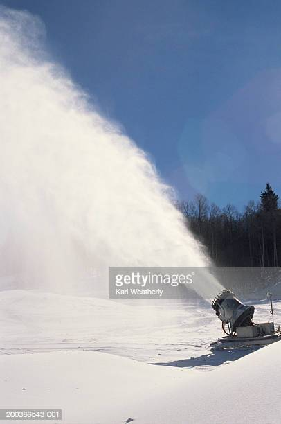 Snow machine in action, Telluride, Colorado, USA