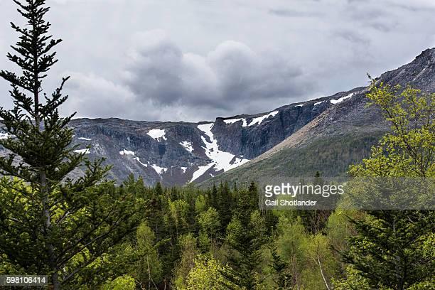 Snow on Marble Mountain