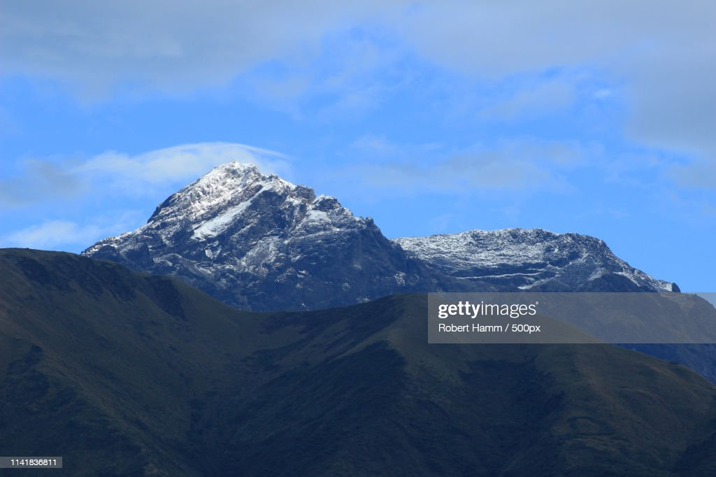 Gunung Cotacachi di Ecuador