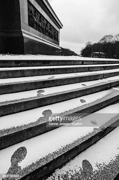 Snow On Steps