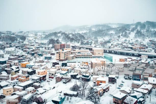 snow otaru, hokkaido, japan - sapporo snow festival stock pictures, royalty-free photos & images