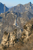 snow over the Great Wall