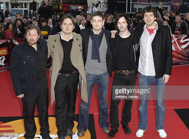 Snow Patrol at the Earl's Court in London, United Kingdom.