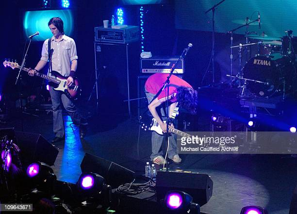 Snow Patrol at the taping of MTV Presents X Box Next Generation Revealed at the Avalon in Los Angeles